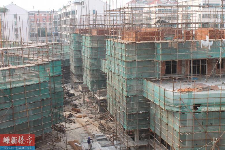 城西丨嵊州金茂世家4月最新施工进展