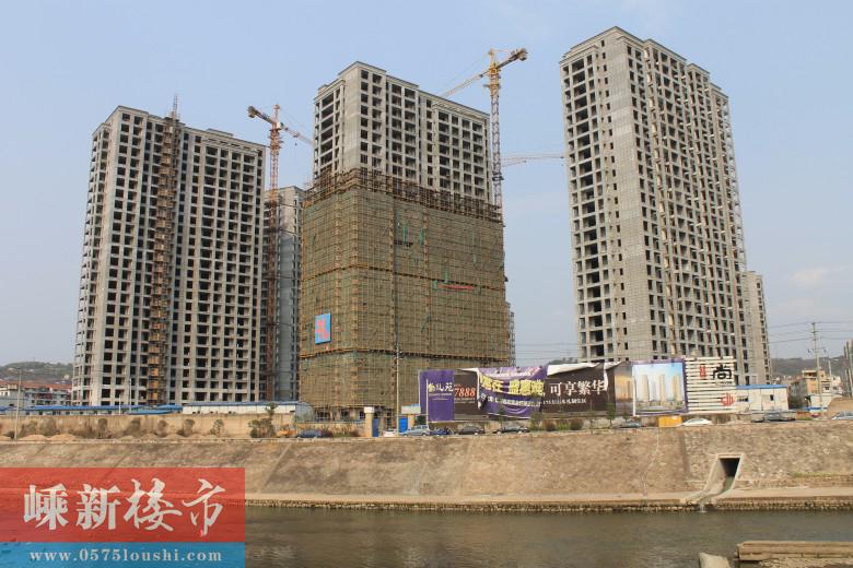 老城丨新昌尚礼苑3月最新施工进展