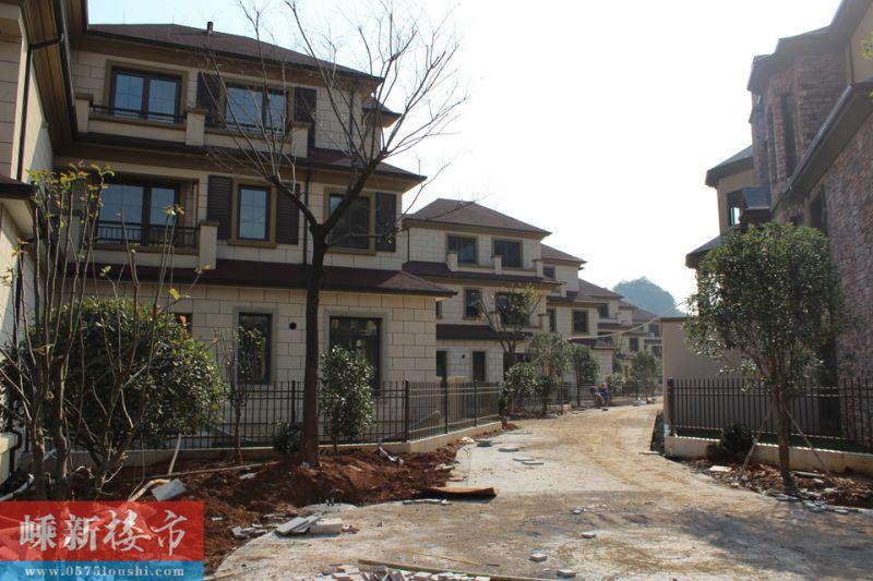 七星 | 新昌十里潜溪·御景湾12月中旬最新施工进度