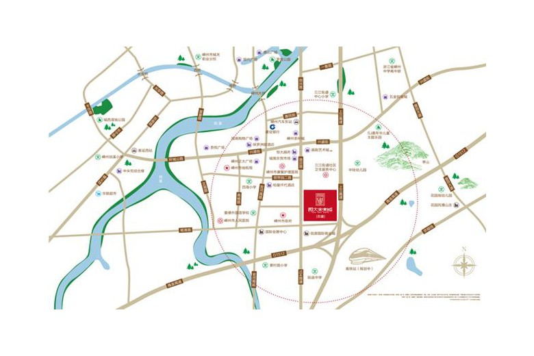 恒大·未来城交通图 (1)
