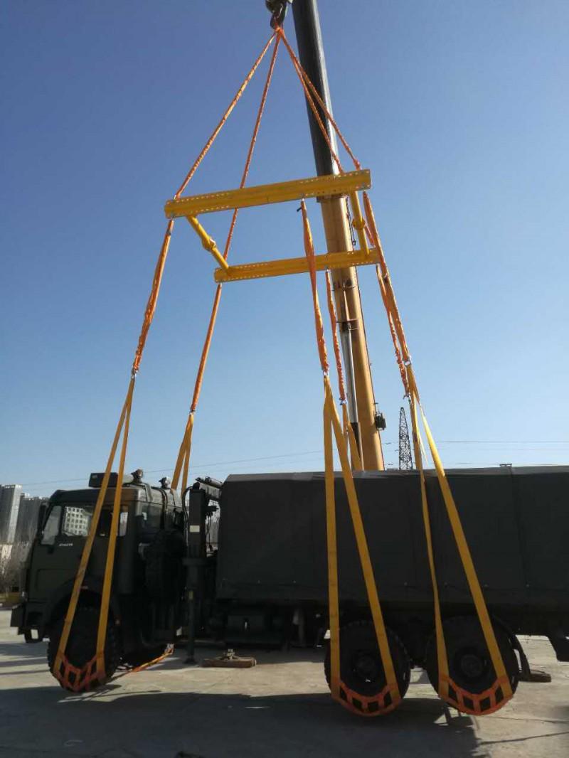 尼龙汽车吊网 装卸汽车网式吊具 无损伤吊装网络吊兜 吊装网带
